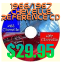 1966 & 1967 Chevelle Reference CD